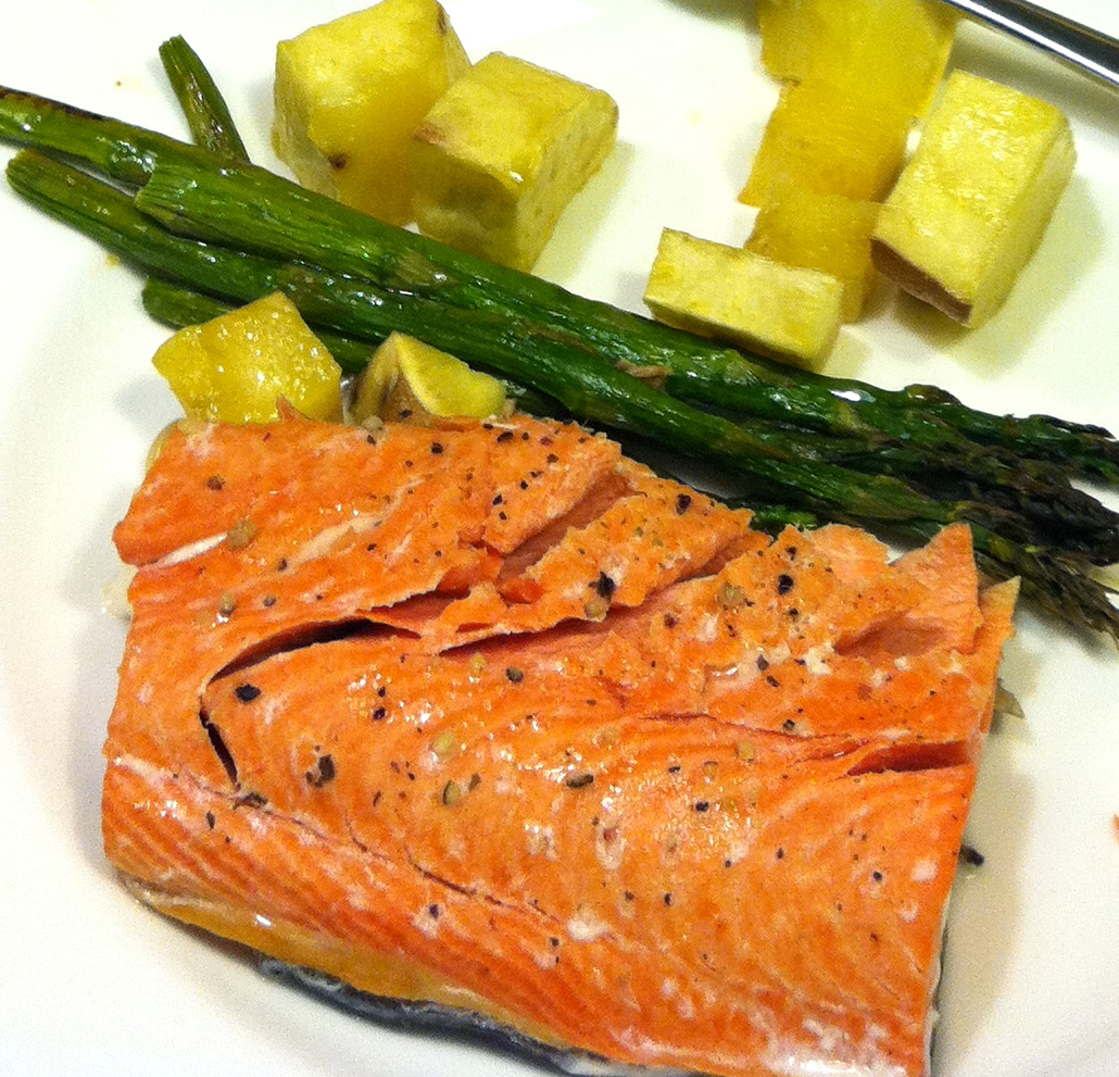 This Week's Post Is Delivered To You Straight From New Zealand Where I Am  Catching Up Honey Mustard Salmon How To Oven Bake Salmon